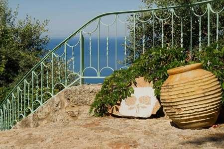 eco friendly hotel greece - Biohotel Mani Sonnenlink