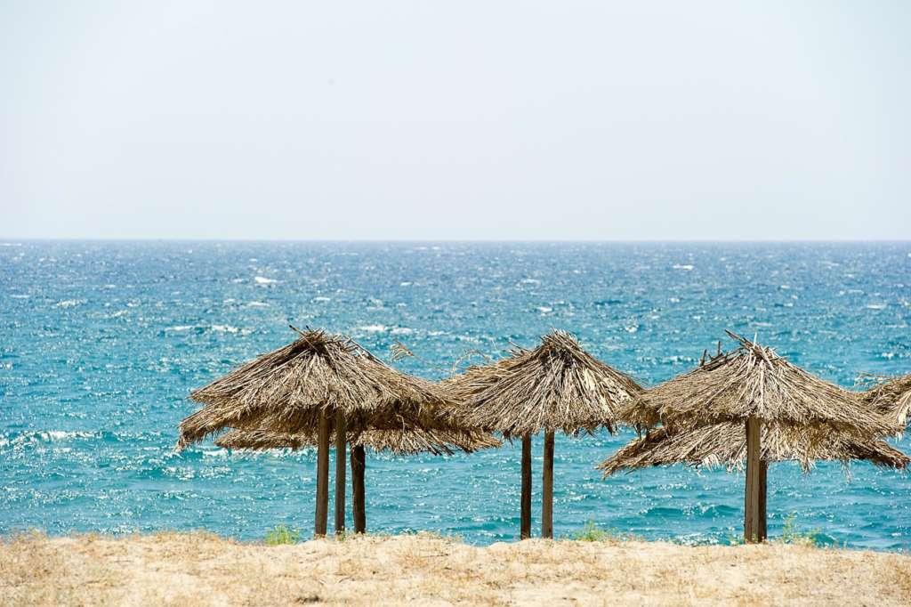 Beach in Mani - Biohotel Mani Sonnenlink